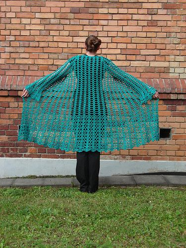 lacy duster - free #crochet pattern: http://www.ravelry.com/patterns/library/lacy-duster