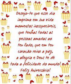 Mensagens de Aniversário de Deus Amigo #felicidades #feliz_aniversario #parabens