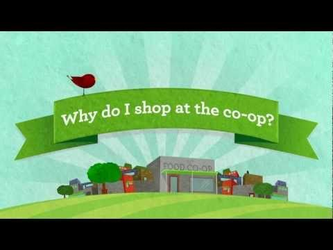 An animated infographic demonstrating just a few of the social, economic, and environmental impacts that food co-ops have on their local communities. How does your grocery store check out?