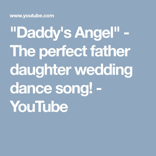 Mother Son Wedding Dance Songs Unique: Best 25+ Father Daughter Wedding Ideas On Pinterest