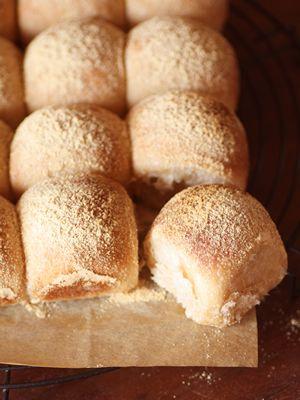 きなこたっぷり ちぎりパン// lilzebra
