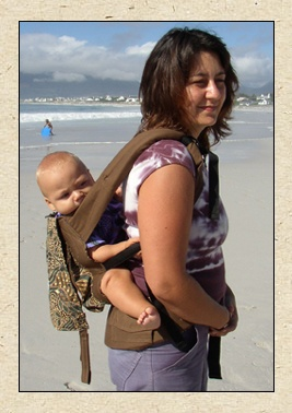 African Baby Carrier - handmade in South Africa - It has been a life saver for me!!! <3