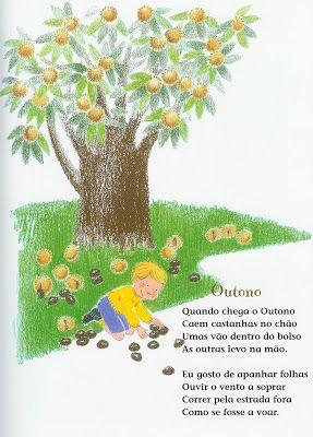 No Mundo das Crianças: Poema de Outono