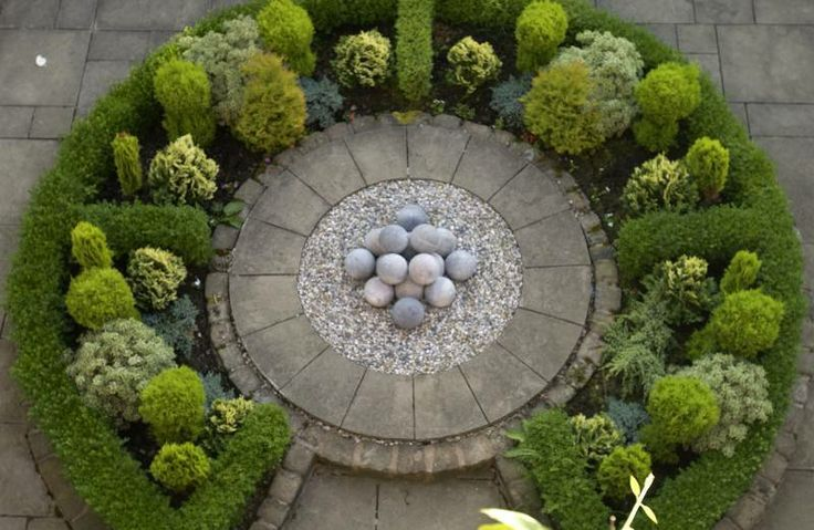 Designing a formal garden – Remember symmetry More                                                                                                                                                     More