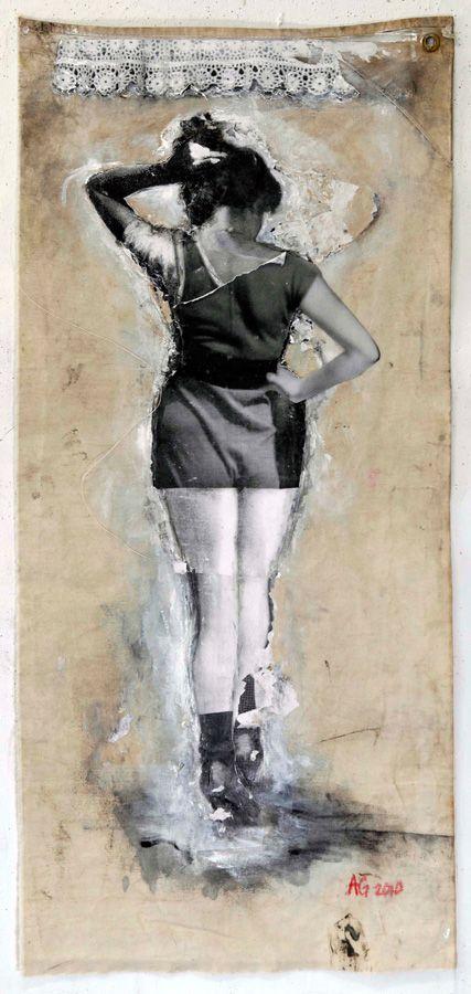 Socks by Angela Grossmann via EIL #art