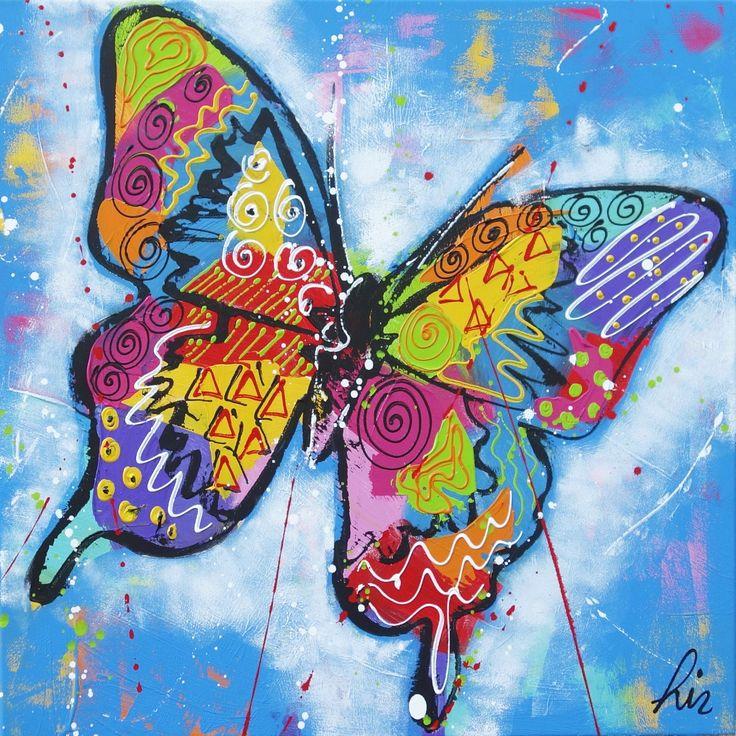 7 Best Vrolijke Schilderijen Vlinders Images On Pinterest -5954