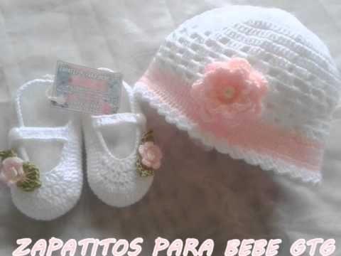 DIY Como tejer escarpines, merceditas, guillerminas a crochet, ganchillo (parte 1/2) - YouTube