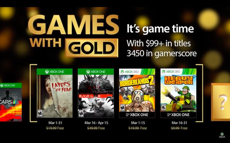 Jocurile Gratuite ale lunii Martie pentru Xbox One și Xbox 360 cu Xbox Live Gold