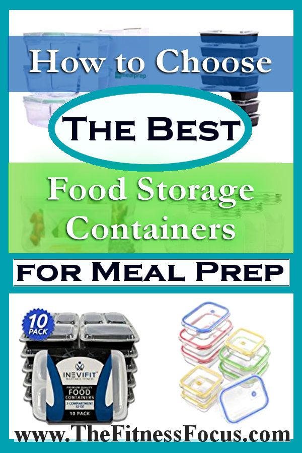 We breakdown which meal prep storage containers are best for different circumstances. Whether it is glass containers, plastic, or bags we have you covered.