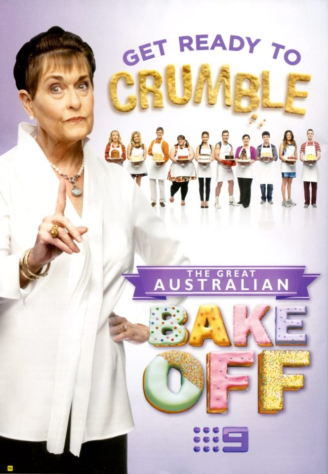 The Great Australian Bake Off - Ad