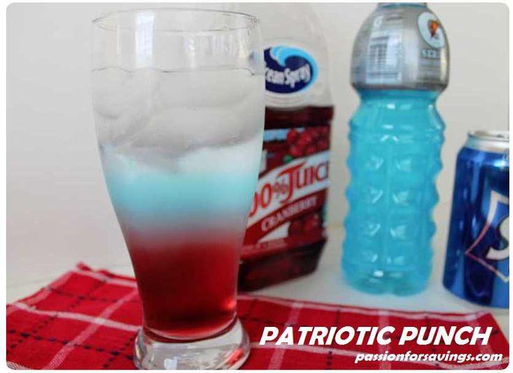 id wallet Patriotic Punch  Recipe