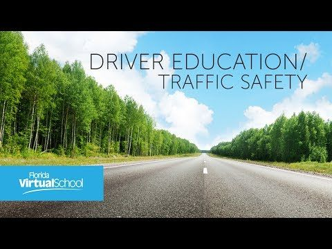 FLVS Driver Education Course Tour | The Virtual Voice