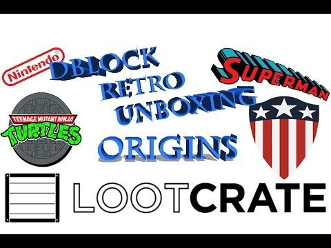 January Loot Crate Origins unboxing