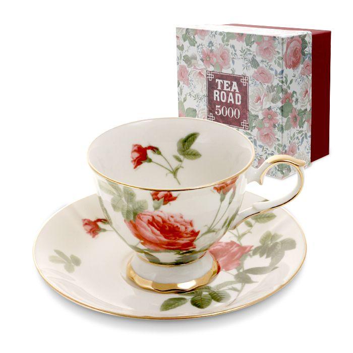 Пара чайная,1 перс, 2 пр, Роза  2 990 руб