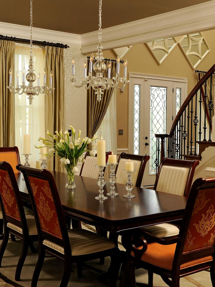 17 best ideas about dark wood dining table on pinterest dining room chairs dinning table and - All wood dining room table ...