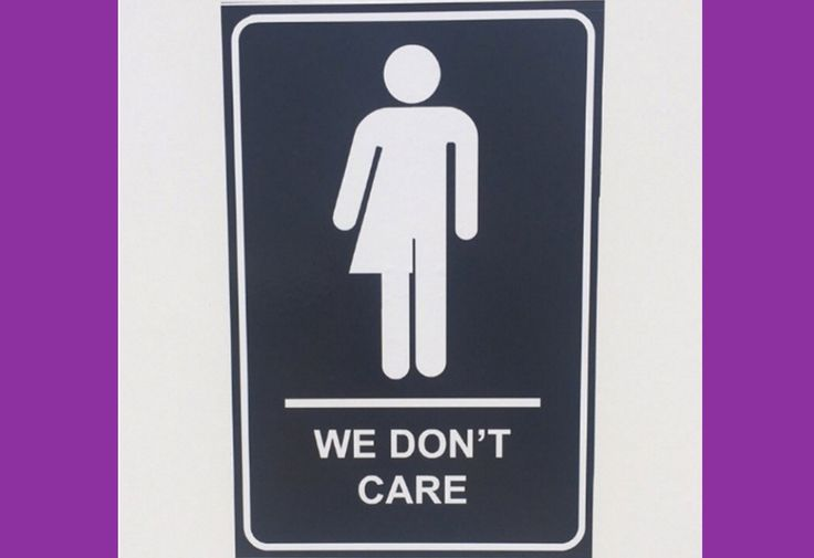 Canada's Sassy Signs Are an Amazing Way to Label Gender-Neutral Bathrooms
