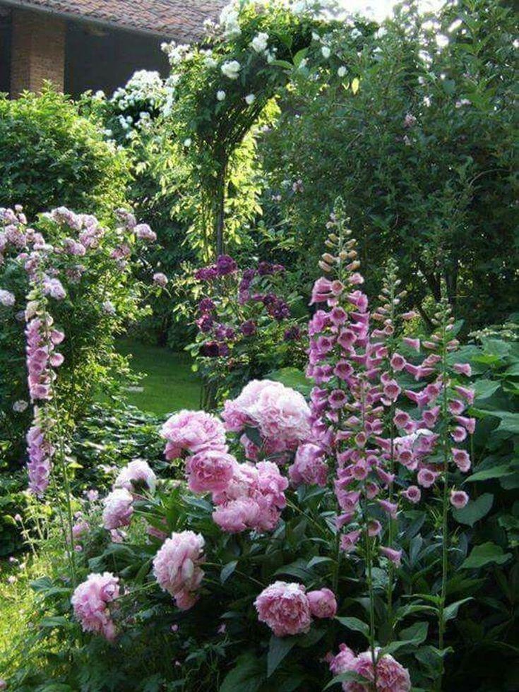 68 schöne französische Cottage Garden Design-Ideen