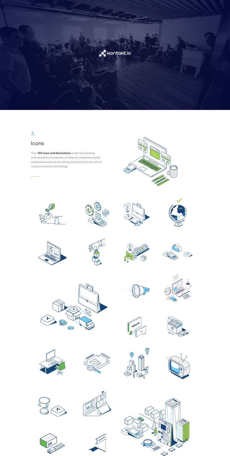 Kontakt.io - Beacons & Beyond on Behance