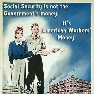 """There is a 2.7 trillion dollar surplus in social security that our government has borrowed and is paying interest on the loan. We don't have a spending problem, we have a corporations are not paying taxes problem. It's that simple."""