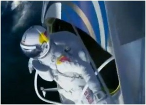 Felix Baumgartner Aims For Supersonic To Set World Record For The Highest Skydive