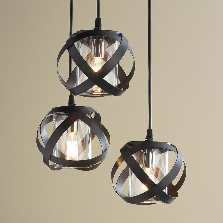 Galaxy Metal Ribbon Pendant Chandelier
