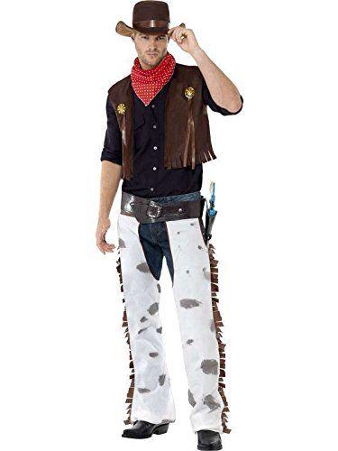 Costume Cowboy taille M Pas cher: Déguisement adulte Homme Cow boy-Western Costume Cowboy taille M Pas cher Produit neuf dans son emballage…