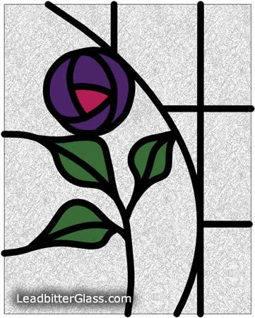 Mackintosh-inspired rose