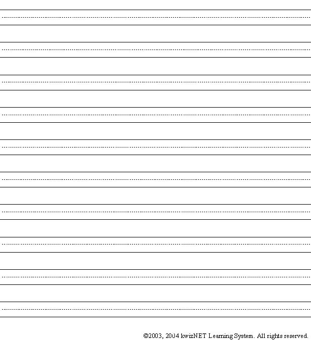 Collection of Blank Writing Worksheets - Bloggakuten