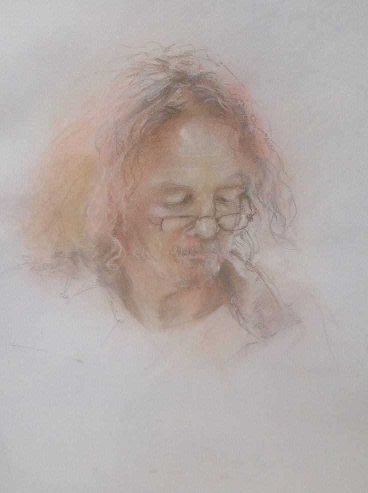 I am who I am by Penny Steynor pastel