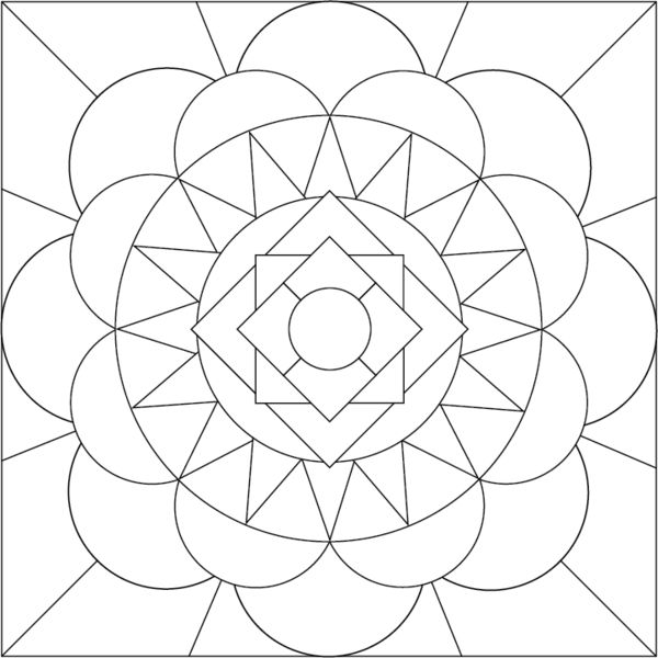 free printable mandala coloring pages mandala coloring page by accidental artist - Artist Coloring Page