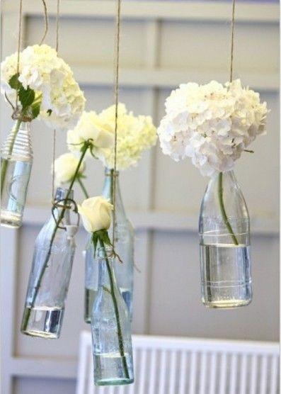 Bröllopsdekoration #hangingflowers