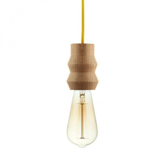 """Lampa Woody """"ZIG-ZAG"""" Biały"""