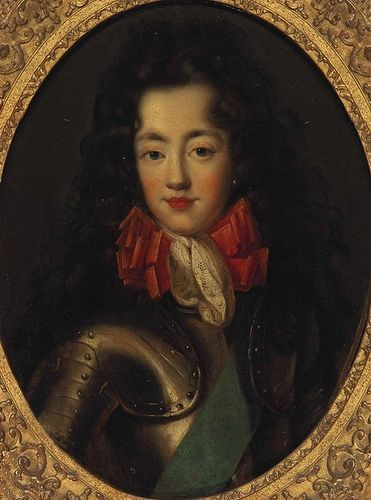 Portrait of a person thought to be the Chevalier de Lorraine