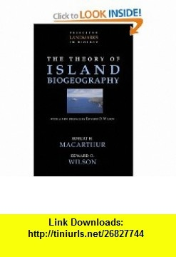 8 best ebooks pdf images on pinterest before i die behavior and the theory of island biogeography princeton landmarks in biology 9780691088365 robert h fandeluxe Image collections