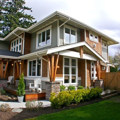 79 best craftsman prairie images on pinterest for Prairie craftsman