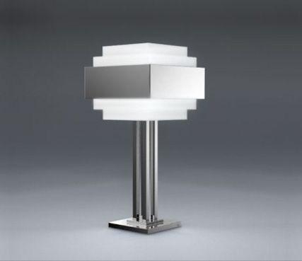 Lampe 944 atelier jean perzel cette très belle lampe style art déco très architecturale
