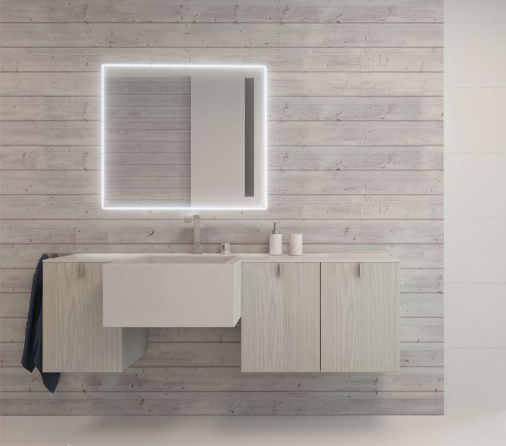 38 migliori immagini specchi bagno su pinterest bagni specchi e specchi rotondi - Specchi retroilluminati per bagno ...