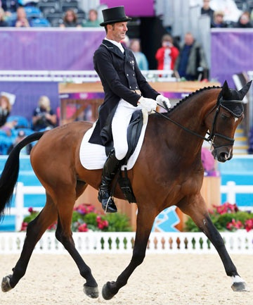"""Mark Todd a classy Kiwi! """"to win any medal is a huge honour."""" The attitude of a true sportsman!"""