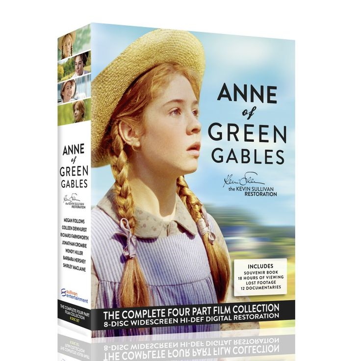 Anne of Green Gables: The Kevin Sullivan Restoration.  Restored and a fourth one made? Who knew?   But I can't help but wonder what Lucy Maud would think of Kevin Sullivan's later life Anne.  I liked some of Mr. Sullivan's entreaties with the first 3 movies, but not sure if the liberties with Anne s past will be a true tribute.