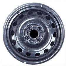 Mitsubishi MIRAGE 1994-2002 [65727] Black Steel 14x5.5 4-100 14 Hole Wheel Rim