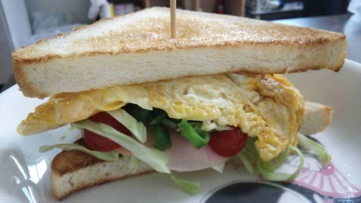 脱。浅海ブログ 具沢山サンドイッチ