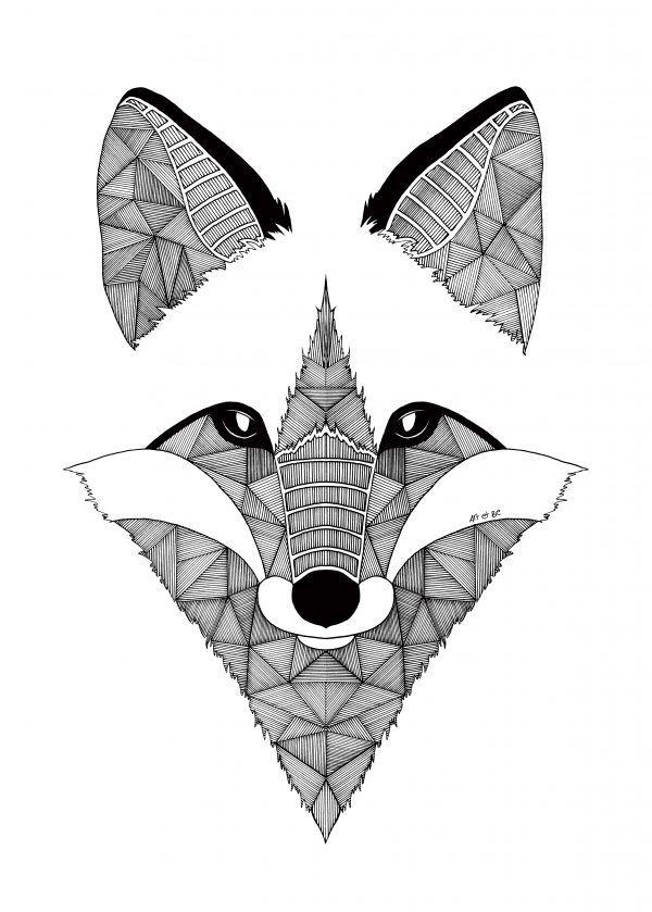 Super Les 25 meilleures idées de la catégorie Dessin de loup facile sur  FW96