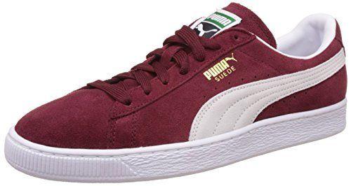 Puma Suede Classic+ – Sneakers Basses – Mixte Adulte – Rouge (Burgundy/White 75) – 44 EU (9.5 UK): Tweet Certainement le produit phare de…