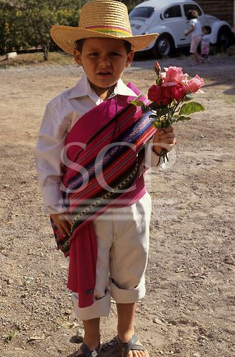 Chilean Traditional Clothing Boy in traditional dress