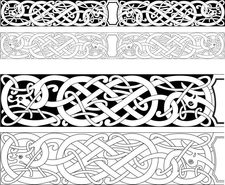 Узоры и орнаменты разных стран