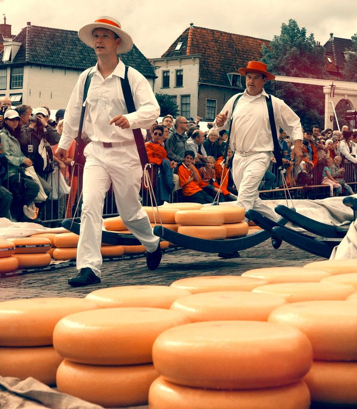 Alkmaar Cheese Market: Introduce your senses to the wonderful world of Dutch cheese and truly understand the appreciation the Dutch have for their cheeses.