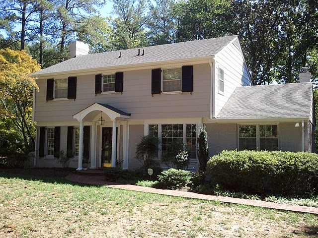 Any bricklayers stone masons here brick landing question forums for Updated colonial home exterior