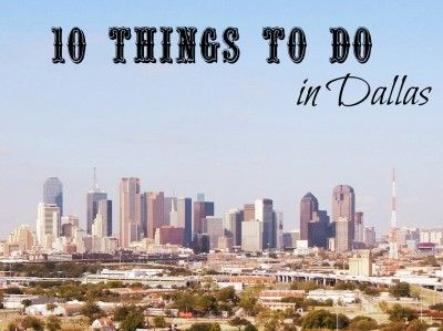 10 Fun Activities for Kids in Dallas. We've been thinking of taking the train down there. Hmmmmm