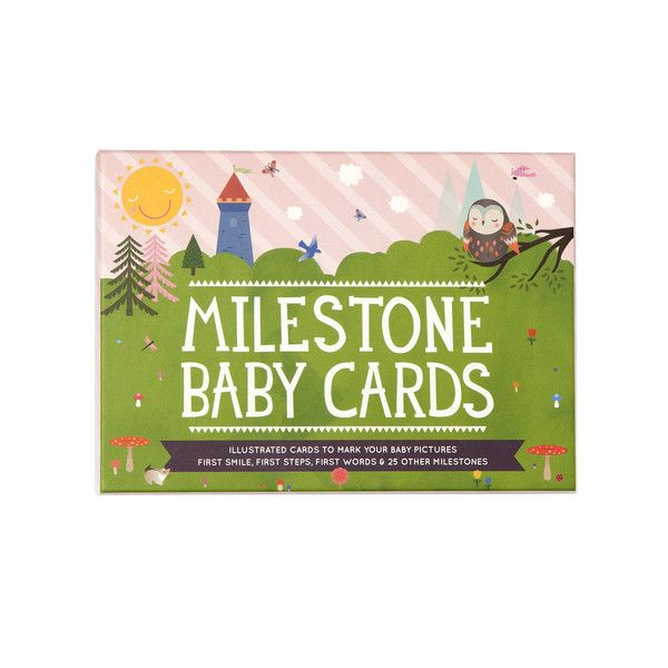 Baby Milestone Cards - Available now with Free Shipping Aust Wide. Only $29.95 - Shop online at www.bebedesigns.com.au