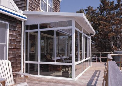 Screened porch on deck house ideas pinterest free Florida room addition